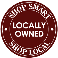 Shop Local! The dollars you spend stay in our community!
